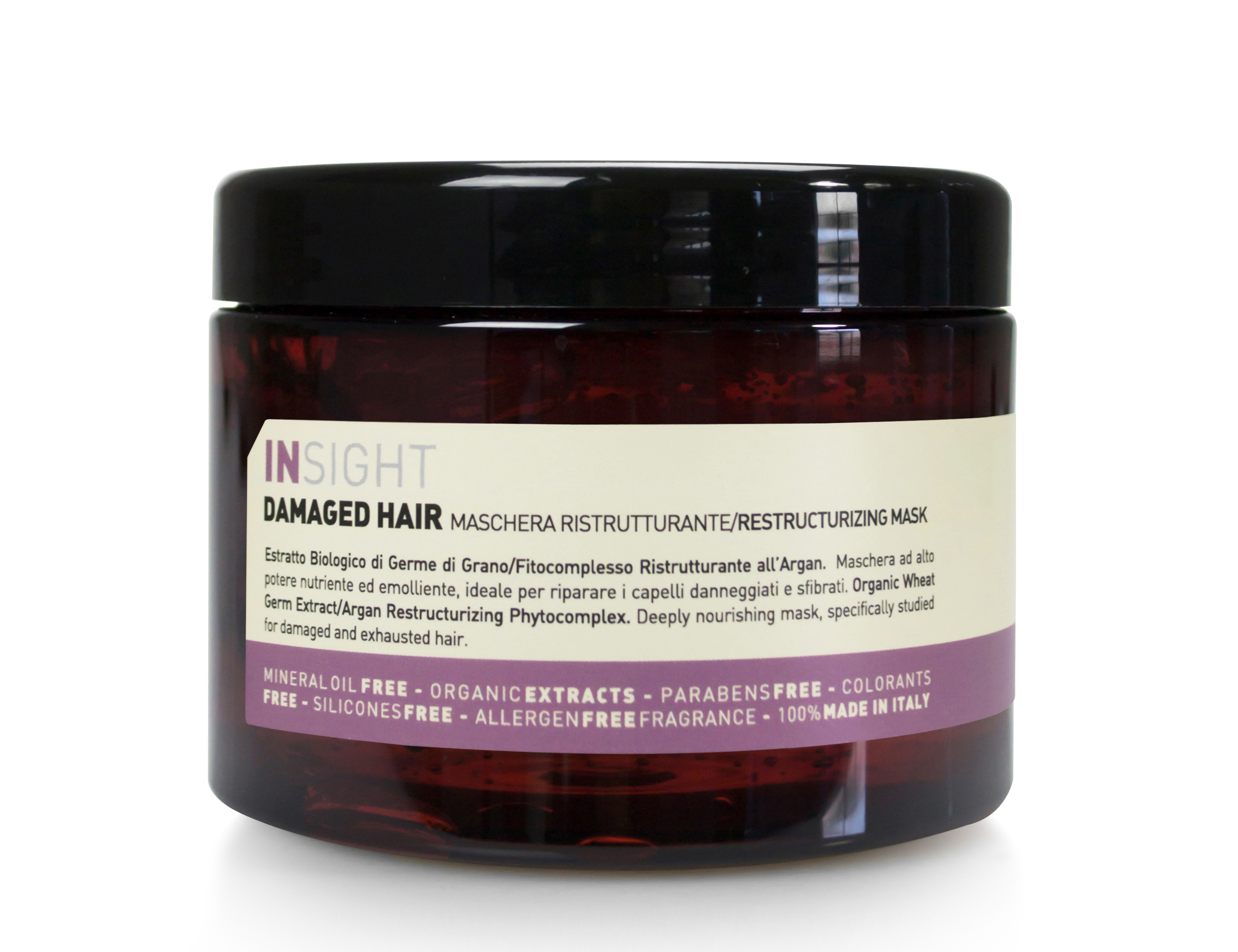 DAMAGED HAIR RESTRUCTURIZING MASK