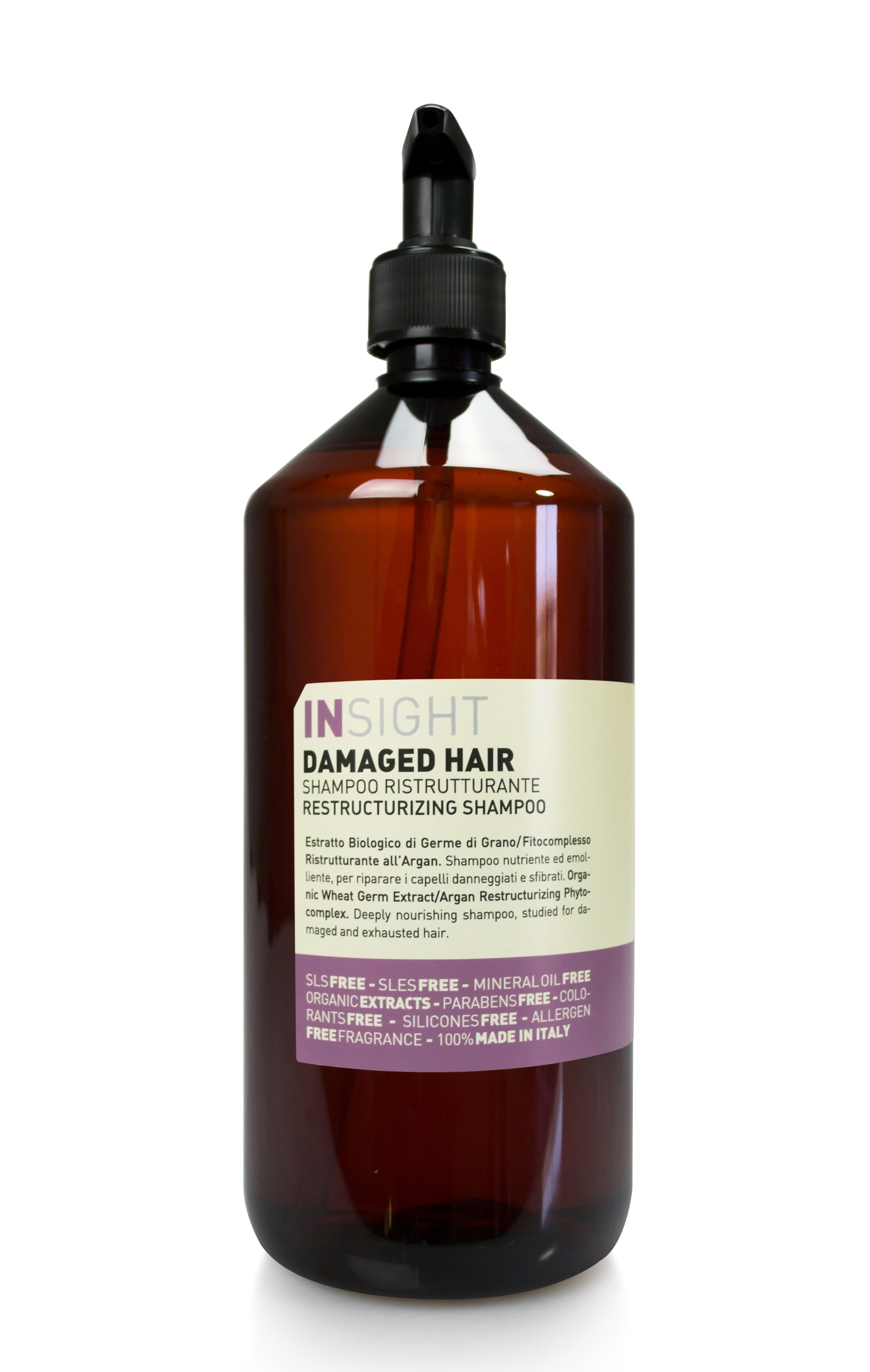 DAMAGED HAIR RESTRUCTURIZING SHAMPOO