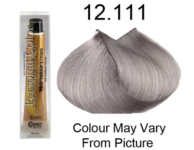 Personal Color 12.111 - Intense Super Platinum Ash Blond 100ml - Personal Colour (Cosmo service).   Personal Color 12.