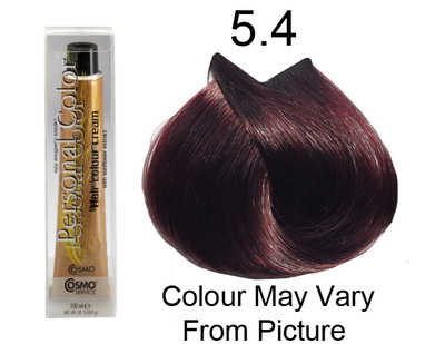Personal Color 5.4 - Auburn Light Chestnut 100ml