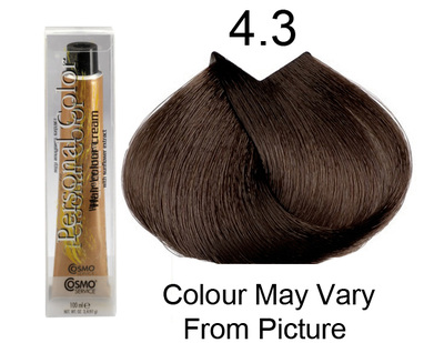 Personal Color 4.3 - Golden Chestnut 100ml - Personal Colour (Cosmo service).   Personal Color 4.