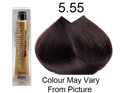 Personal Color 5.55 - Intense Mahogany Light Chestnut 100ml - Personal Colour (Cosmo service).   Personal Color 5.
