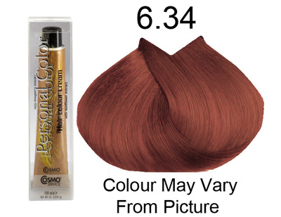 Personal Color 6.34 - Golden Copper Dark Blonde 100ml - Personal Colour ().   Personal Color 6.