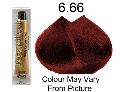 Personal Color 6.66 - Intense Red Dark Blond 100ml - Personal Colour (Cosmo service).   Personal Color 6.