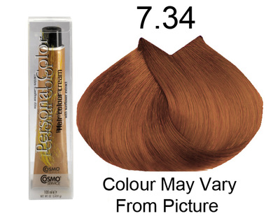 Personal Color 7.34 - Golden Copper Blond 100ml - Personal Colour (Cosmo service).   Personal Color 7.