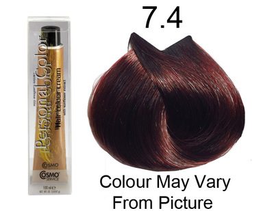 Personal Color 7.4 - Auburn Blond 100ml - Personal Colour (Cosmo service).   Personal Color 7.