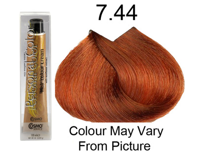Personal Color 7.44 - Intense Auburn Blond 100ml - Personal Colour (Cosmo service).   Personal Color 7.