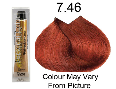 Personal Color 7.46 - Brilliant Auburn Red 100ml - Personal Colour (Cosmo service).   Personal Color 7.