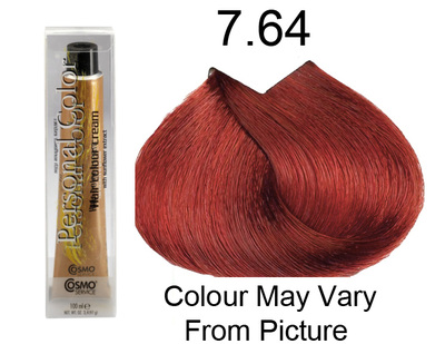 Personal Color 7.64 - Auburn Red Blonde 100ml - Personal Colour (Cosmo service).   Personal Color 7.