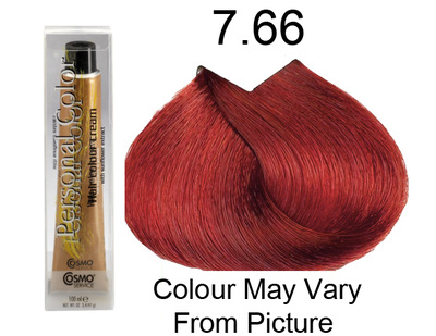 Personal Color 7.66 - Intense Red Blond 100ml - Personal Colour (Cosmo service).   Personal Color 7.