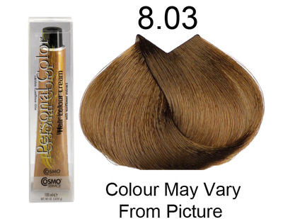 Personal Color 8.03 - Golden Natural Light Blond 100ml - Personal Colour (Cosmo service).   Personal Color 8.
