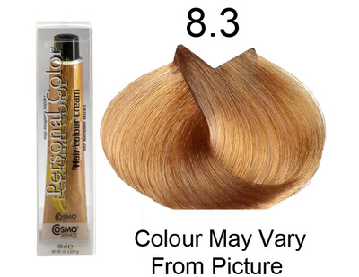 Personal Color 8.3 - Golden Light Blond 100ml - Personal Colour ().   Personal Color 8.