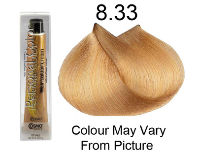 Personal Color 8.33 - Intense Golden Light Blond 100ml - Personal Colour (Cosmo service).   Personal Color 8.