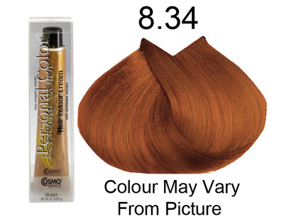 Personal Color 8.34 - Golden Copper Light Blond 100ml - Personal Colour (Cosmo service).   Personal Color 8.