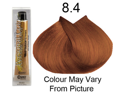 Personal Color 8.4 - Auburn Light Blond 100ml - Personal Colour (Cosmo service).   Personal Color 8.