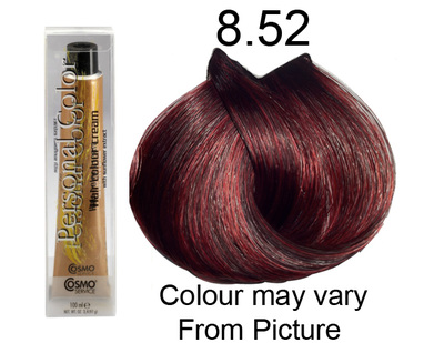 Personal Color 8.52 - Mahogany Red Light Blonde 100ml - Personal Colour (Cosmo service).   Personal Color 8.