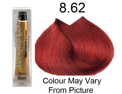 Personal Color 8.62 - Brilliant Red Light Blond 100ml - Personal Colour (Cosmo service).   Personal Color 8.