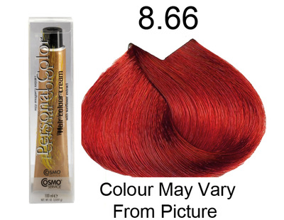 Personal Color 8.66 - Intense Red Light Blond 100ml - Personal Colour (Cosmo service).   Personal Color 8.