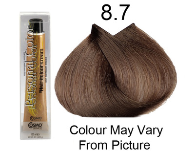 Personal Color 8.7 - Tobacco Light Blond 100ml - Personal Colour (Cosmo service).   Personal Color 8.