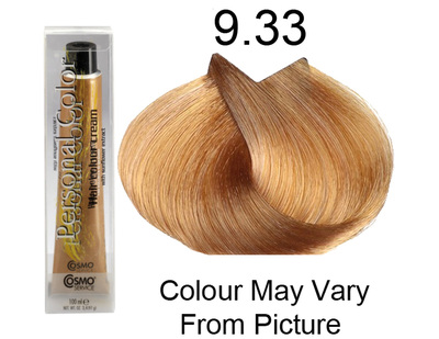 Personal Color 9.33 - Intense Golden Very Light Blond 100ml - Personal Colour (Cosmo service).   Personal Color 9.
