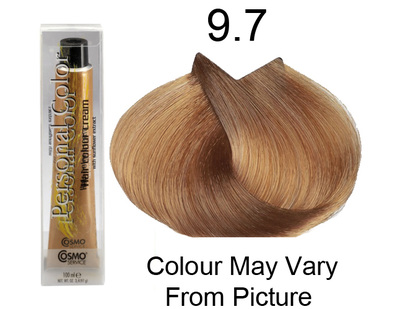 Personal Color 9.7 - Tobacco Very Light Blond 100ml - Personal Colour (Cosmo service).   Personal Color 9.